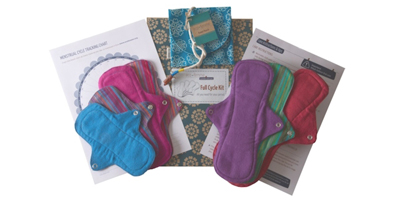 Full Reusable Sanitary Pad Kits