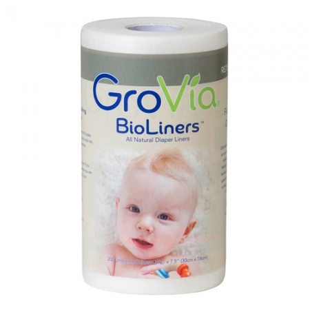 GroVia Nappy Liners Bioliners - 200 Per Roll