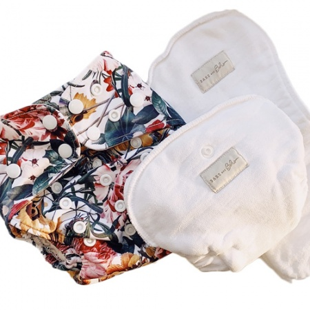 Bare & Boho MINI Newborn All In Two Nappy Bundle