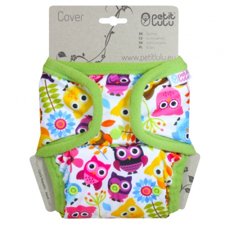 Petit Lulu Nappy Cover with Poppers