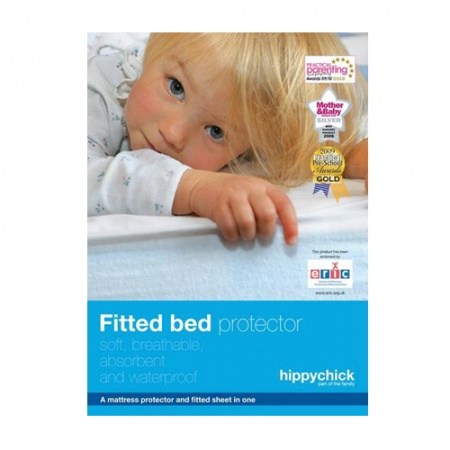 Hippychick Fitted Cotton Mattress Protectors