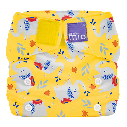 Miosolo Nappy Bambino Mio All In One Washable One Size NEW for 2020 SAFARI