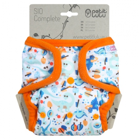 Petit Lulu Fluffy Organic AIO In One Nappies