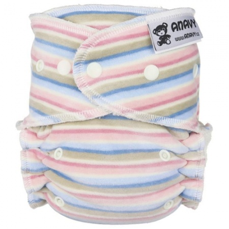 Anavy Fitted Onesize Popper Nappy