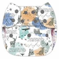 Blueberry Deluxe Pocket Onesize Nappy