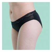 Cheeky Mama Period Pants - Feeling Pretty Lace Mid Rise