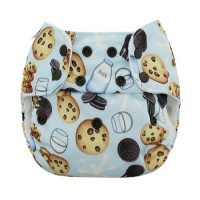 Blueberry Simplex All In One Nappy