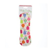 Pink Daisy Organic Cotton Small  Sanitary Pads