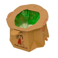 Tron Disposable Potty - For those little emergencies on the go!