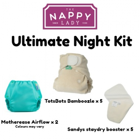 ULTIMATE Bamboozle Stretch Night Time Kit - Nappy Lady Exclusive