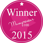 Mumpreneur 100 2015 Winner